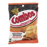 Combos Baked Snacks Cheddar Cheese Pretzel