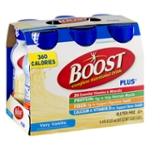 Boost Complete Nutritional Drink Plus Vanilla Delight - 6 CT