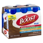Boost Complete Nutritional Drink Plus Chocolate Sensation - 6 CT