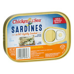 Chicken of the Sea Sardines in Oil Lightly Smoked