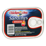 Chicken of the Sea Sardines Sriracha Spicy!