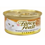 Purina Fancy Feast Classic Tender Liver & Chicken Feast Wet Cat Food - 3 oz. Can