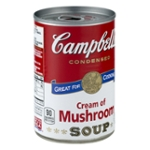 Campbell's Condensed Soup Great For Cooking Cream Of Mushroom