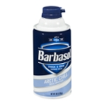 Barbasol Thick & Rich Shaving Cream Arctic Chill With Menthol