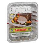Handi Foil Eco-Foil Roaster/Baker Pans - 3 CT