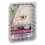Handi Foil Eco-Foil 13x9 Cake Pans & Lids - 2 CT