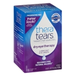Thera Tears Dry Eye Therapy Lubricant Eye Drops Single-Use Vials - 32 CT