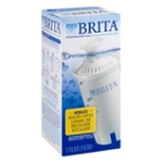 Brita Replacement Water Filter for Pitchers, 1 Count