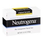 Neutrogena Facial Cleansing Bar, Fragrence Free, 3.5 Oz