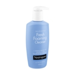 Neutrogena Fresh Foaming Facial Cleanser & Makeup Remover with Glycerin, Oil-, Soap- & Alcohol-Free Daily Face Wash Removes Dirt, Oil & Waterproof Makeup, Non-Comedogenic & Hypoallergenic, 6.7 fl. oz