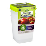 Arrow Storage Containers for Freezer (1 Quart) - 3 CT