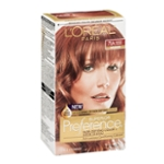 L'Oreal Paris Superior Preference Fade-Defying Color + Shine System 7LA Lightest Auburn/Warmer