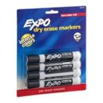 Expo Dry Erase Markers Black - 4 CT