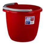 Sterilite 10 QT Pail Classic Red