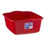 Sterilite Dishpan 12 Qt Classic Red
