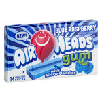 Air Heads Gum Blue Raspberry - 14 CT