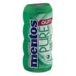 Mentos Pure Fresh Sugarfree Gum Spearmint - 15 CT