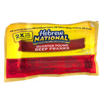 Hebrew National Quarter Pound Beef Franks