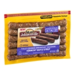 Johnsonville Fully Cooked Breakfast Sausage Vermont Maple Syrup