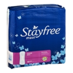 Stayfree Maxi Pads Super - 48 CT