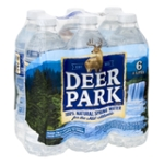 DEER PARK 100% Natural Spring Water 6-16.9 fl. oz. Bottles