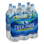 Deer Park Natural Spring Water, 23.7 oz. Bottles (Pack of 6)