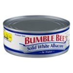 Bumble Bee Solid White Albacore In Water
