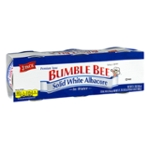 Bumble Bee Solid White Albacore Premium Tuna In Water - 3 PK