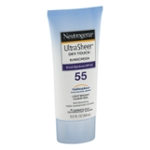 Neutrogena Ultra Sheer Dry-Touch Water Resistant and Non-Greasy Sunscreen Lotion with Broad Spectrum SPF 55, 3 fl. oz