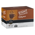 Eight O'Clock Hazelnut Medium Roast Coffee K-Cup Packs - 12 CT