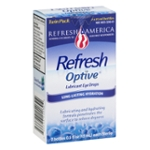 Refresh Optive Lubricant Eye Drops Twin Pack - 2 CT