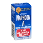 Naphcon A Eye Drops Relieves Itching & Redness Eye Allergy Relief