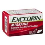 Excedrin Migraine Pain Reliever Caplets - 24 CT