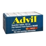 Advil® Pain Reliever/Fever Reducer (Ibuprofen) 200mg 100 ct Box