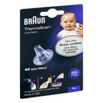 Braun Thermoscan Lens Filters Ear - 40 CT