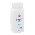 Johnson's Baby Powder for Delicate Skin, Hypoallergenic and Free of Parabens, Phthalates, and Dyes for Baby Skin Care, 1.5 oz