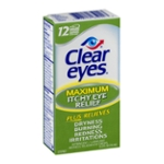 Clear Eyes Eye Drops, Itchy Relief, Maximum, Box
