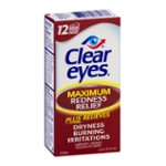 Clear Eyes Eye Drops, Redness Relief, Maximum, Box