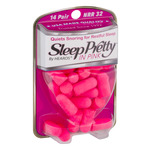 Sleep Pretty In Pink Ear Plugs - 14 Pair