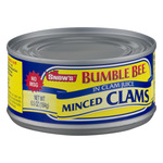 Snow's Bumble Bee Minced Clams