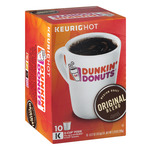 Dunkin' Donuts K-Cup Pods Medium Roast Coffee Original Blend - 10 CT