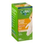 Curad Basic Care Vinyl Exam Gloves - 50 CT