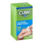 Curad Alcohol Prep Pads - 100 CT
