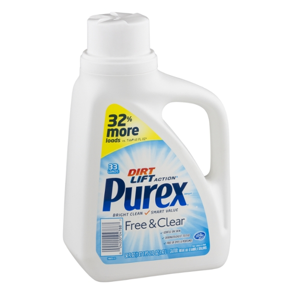 Purex Laundry Detergent Free & Clear