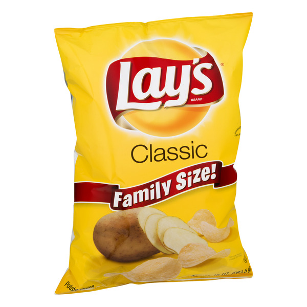 Lay's Family Size! Potato Chips Classic