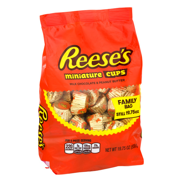 Reese's Miniature Cups Milk Chocolate & Peanut Butter