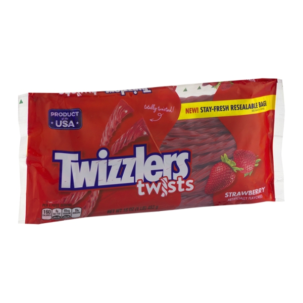 TWIZZLERS Strawberry Twists, 16 oz
