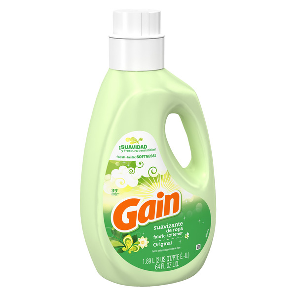 Gain Liquid Fabric Softener, Original, 21 Loads 64 Fl oz
