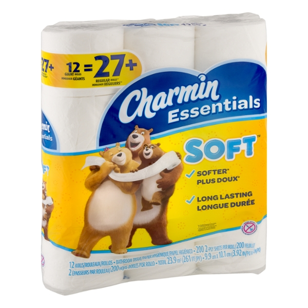 Chamin Essentials Soft Bathroom Tissue - 12 PK