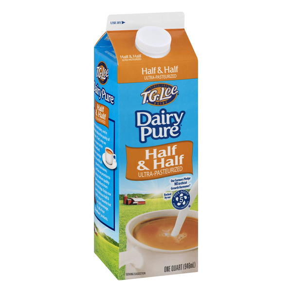 T.G. Lee Dairy Pure Half & Half Ultra-Pasteurized